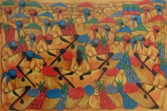 Haitian Art Canvas Painting 70x100