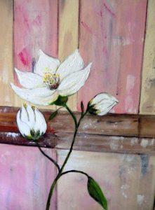 Christa Ackermann Bild Blüte